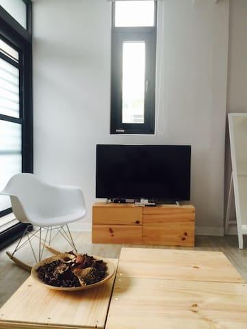 Designer' suite room Kaohsiung 2 - Gangshan District - Pousada