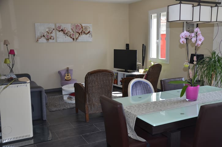 maison tranquille à 2 kms du centre Nevers - Varennes-Vauzelles - Dům
