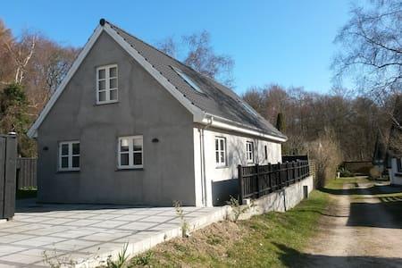 Hus 100m fra skov 500m til strand - Ålsgårde