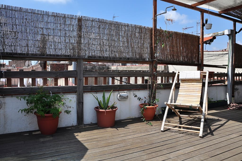Lovely loft with terrace iBarcelona