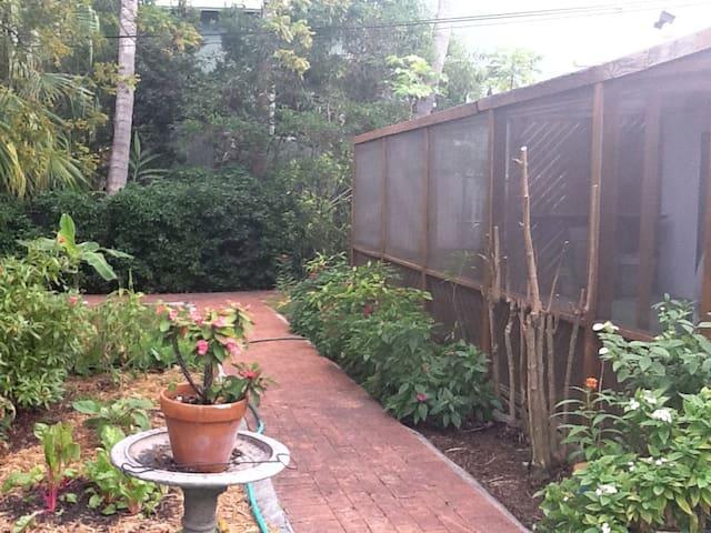 Private Screen Porch