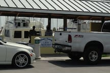 Fresh Fish from Charter Boats, just a short drive away.
