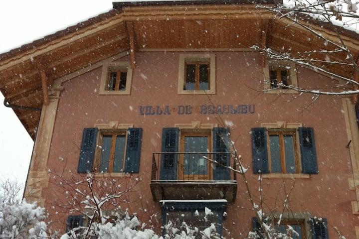 Villa de charme à 5mn du télécabine et du  village