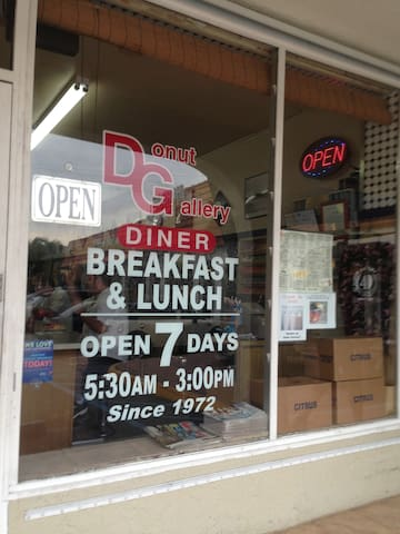 Local diner-famous for the Ted Special