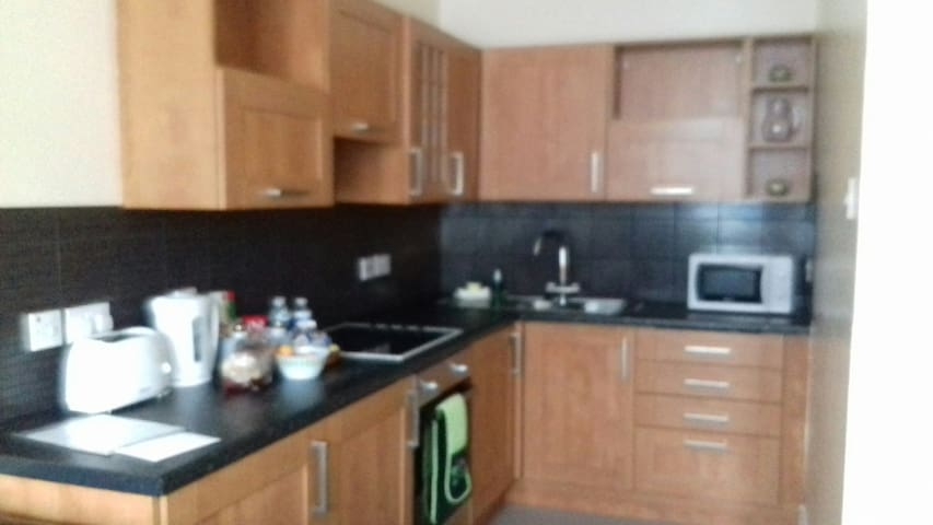 Spacious Paisley town centre flat   NR,GLA Airport