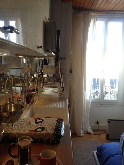 A real kitchen