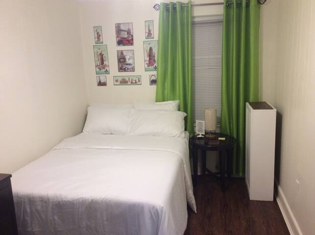 Two bedrooms/ 1.5 restrooms in welcoming home!