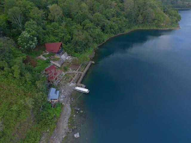 Dapdap Retreat Center*Lake Toba*Private*50+ Guests