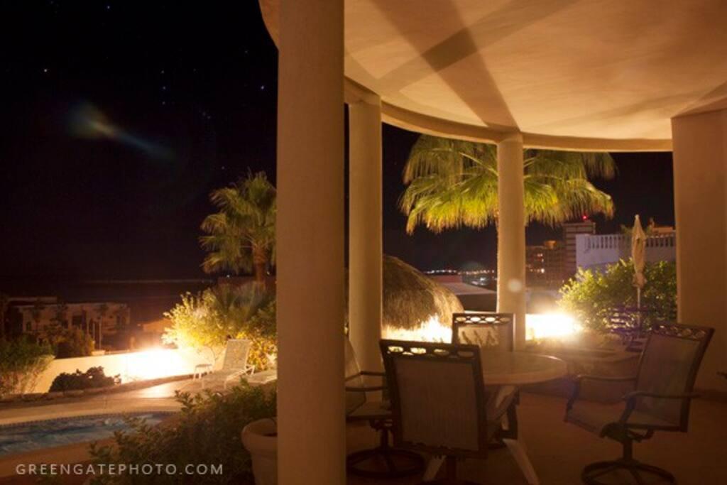 Sea Suite Terrace Evening