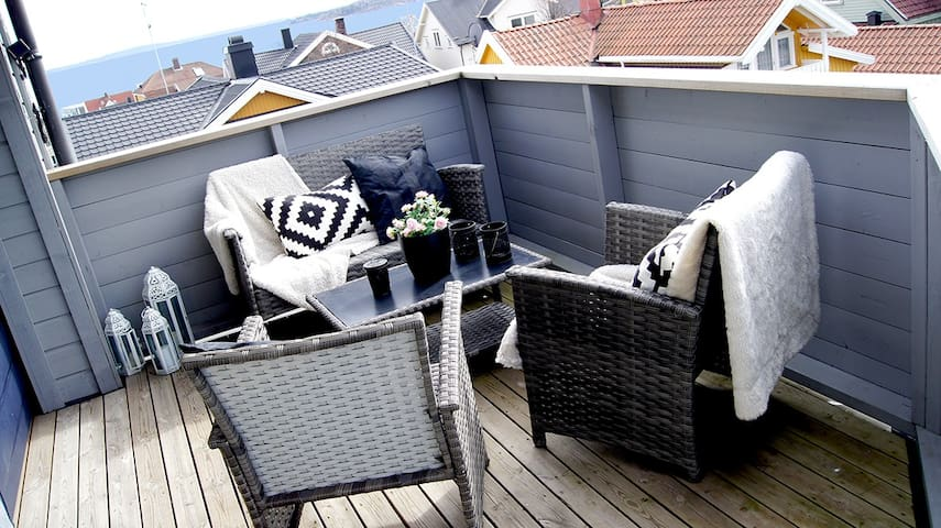 Beautiful apartment in the heart of Horten!