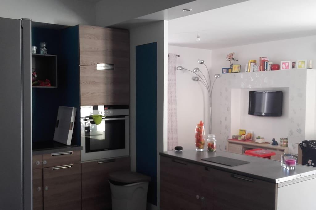 maison au calme 6 couchages quip e b b s enfants maisons louer castres languedoc. Black Bedroom Furniture Sets. Home Design Ideas