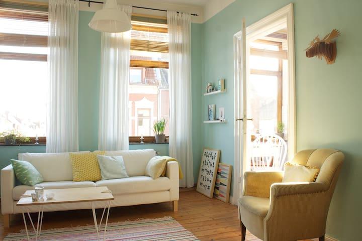 Cute flat in art nouveau style - Bremen - Apartment