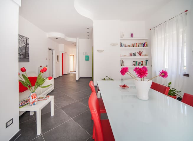 Modern apartment in the center - Massa Lubrense - Byt