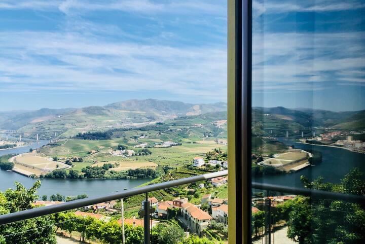Quinta da Pecega 2 | Douro | quarto - Vista Rio