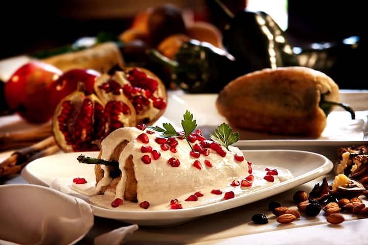 Disfruta de la gatronomía mexicana