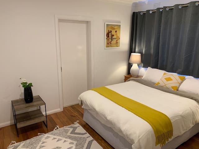 Queen Bedroom With Loads of Storage