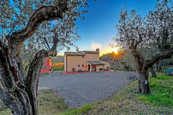 LA CAPANNA villa in Florence's hills