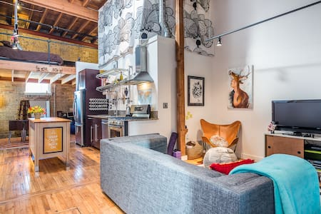 An Adventurist's Urban Retreat - Loft