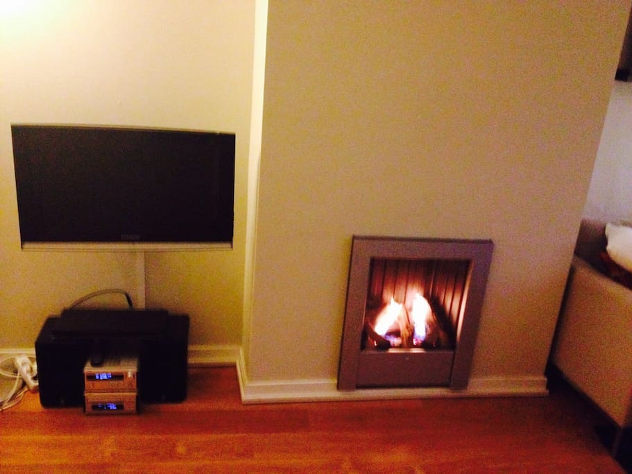 TV, fire place, WiFi