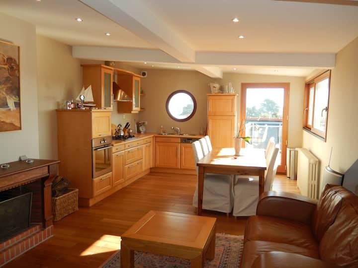 Appartement petite vue mer St Malo!