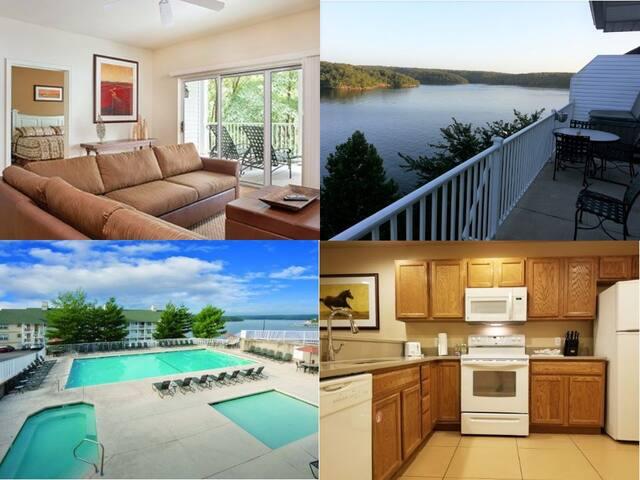 Lakefront Osage Beach 2 Bed/2 Bath Condo Resort