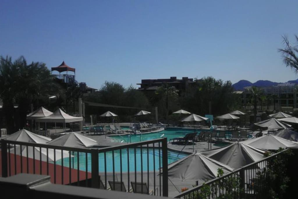 Access to all pool on premises