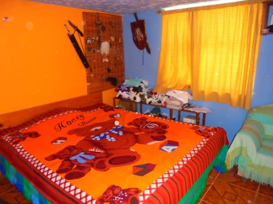 habitación amplia