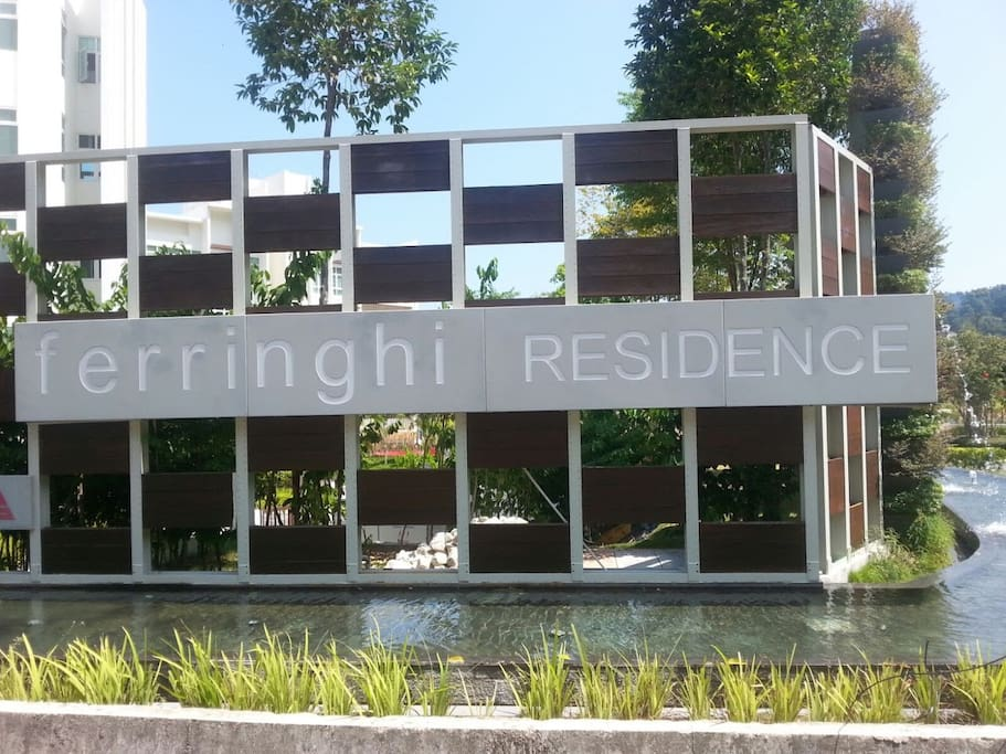 Ferringhi Residence from street view