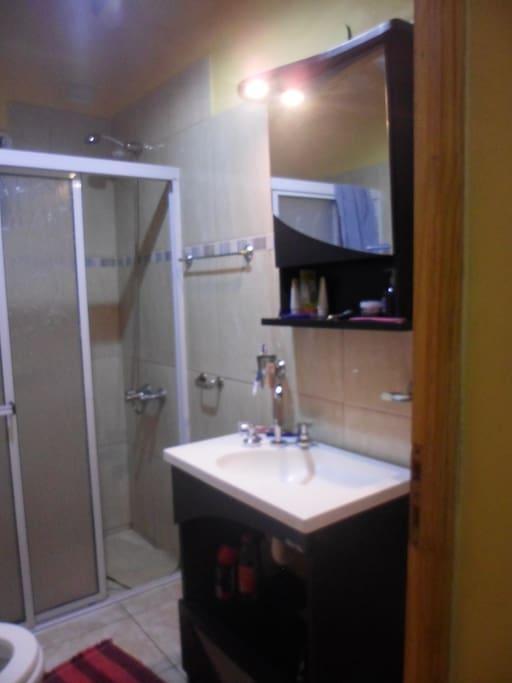 Baño, toilette.