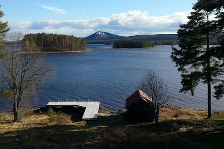 Swedish cottage by Lake Siljan Mora - Mora