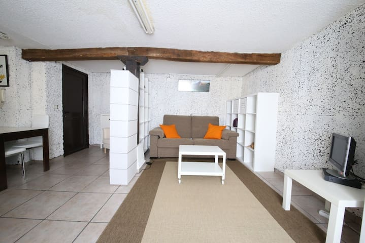 Studio near the beach+park.option - Donostia - Flat