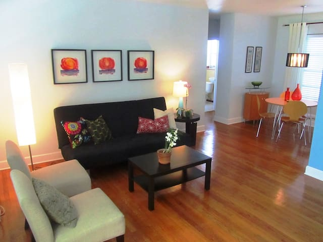 STAY ONE BLOCK FROM THE BEACH 2 - Miami Beach - Apartment