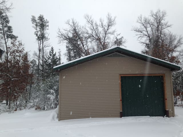 Pole barn available for use by customers if discussed ahead of time