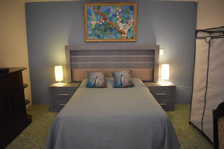 BLUE ROOM.  Acogedora suite en Coyoacán Centro