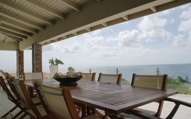 Apartm. with sea view caribe ocean - Cas abao, Curacao - Flat