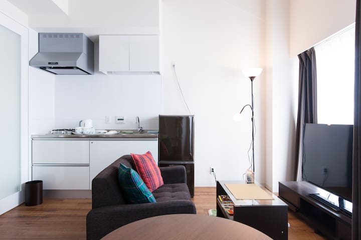 Apartment for up to 4 guests; the center of Kyoto - Киото - Квартира