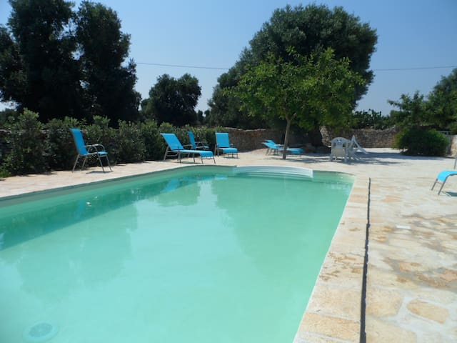 Apartment Vento, pool, 5 mins from the sea - Ostuni - Apartment