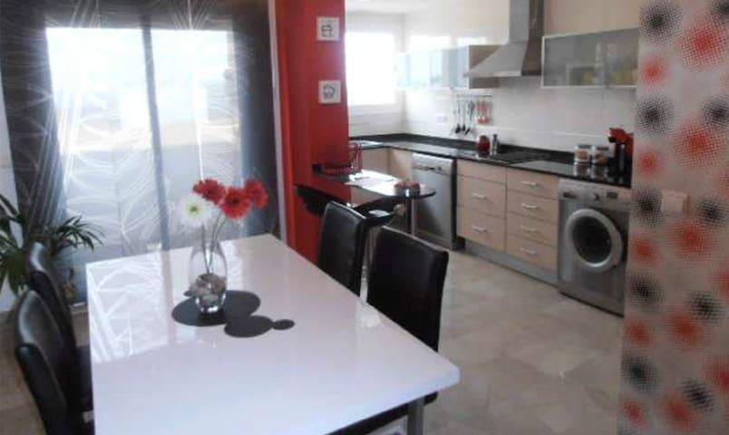 Habitación privada en piso acogedor - La Pobla de Vallbona