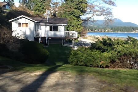 Direct Oceanfront 2 Bed Beach House - Powell River