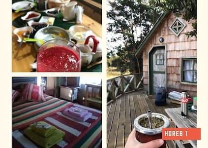 Cabaña HOREB 1 (Bio Granja) El Taique Puyehue
