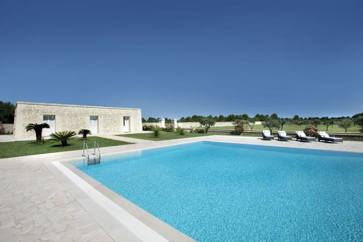 Villa Li Archi  in Residenza di lusso con piscina - Borgagne - Villa