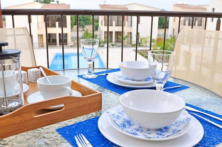 Brand New 1 Bed Apt with Pool View - Kalavasos