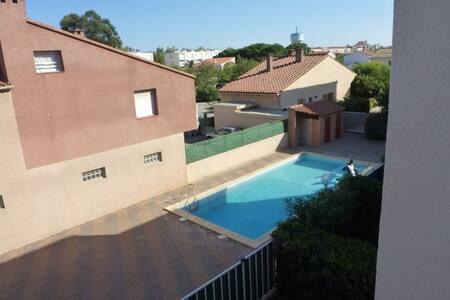 location appart bord de mer - Canet-en-Roussillon - อพาร์ทเมนท์