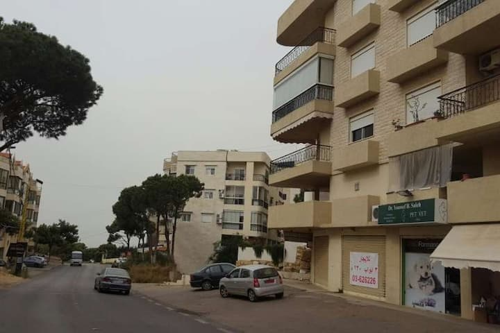 located at 270 m height,few min of heart of beirut