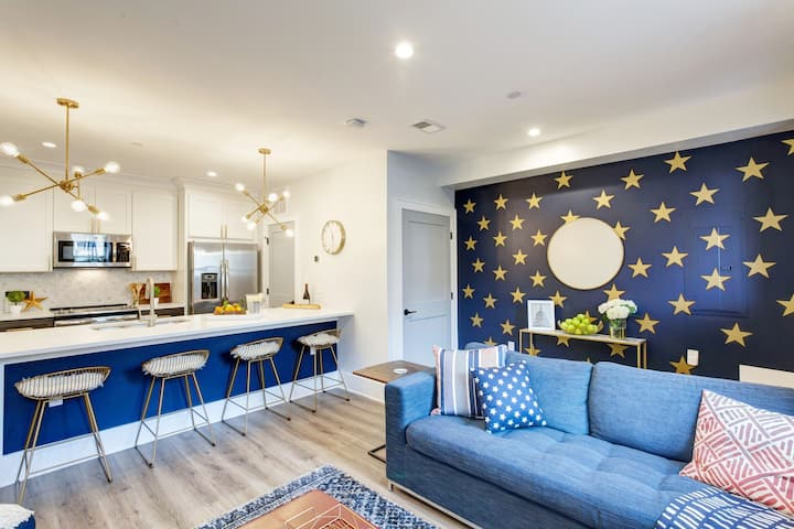 2B/2b New Americana Retreat in the heart of D.C.!