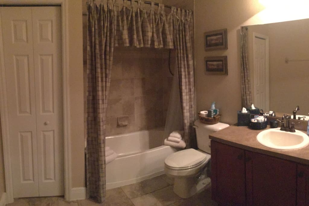 Spacious Private Bathroom