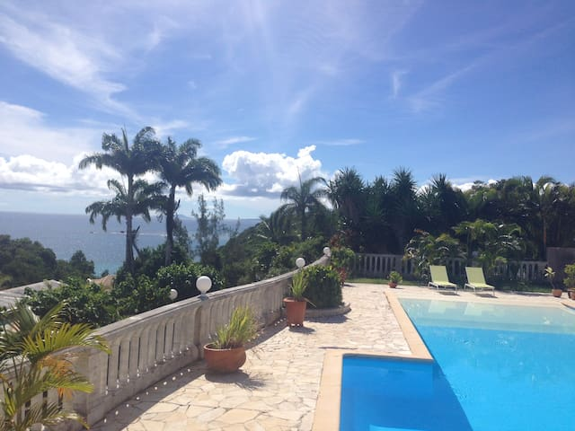 Amazing view from a luxury home - Le Gosier - Huis