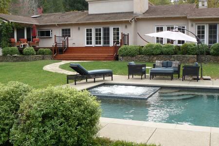 Wine Country Retreat w/Lake & Pool - Calistoga - Maison