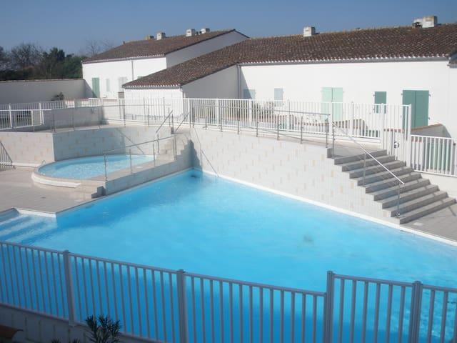 Appartement pour 4 avec piscine - Saint-Martin-de-Ré - Pis