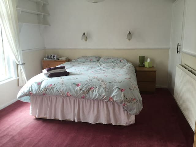 Airy Double Room in Shared House for one person - Colchester - House